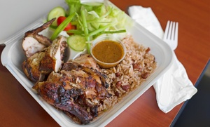 Jerky Jerk: Jamaican/Caribbean Cuisine at Jerky Jerk (35% Off). Two Options Available.