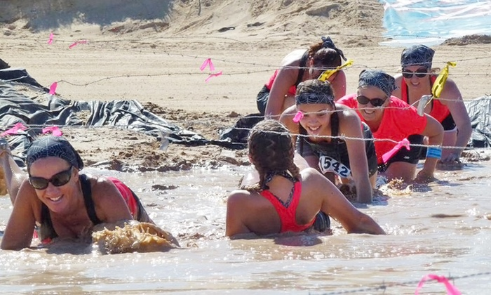 Dirty Beach Mud Run - Rocky Point Speedway: Entry for One, Two, or Four to the Dirty Beach Mud Run on Saturday, October 31, 2015 (Up to 46% Off)
