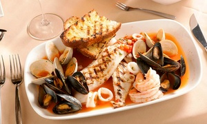 Cielo: Italian Lunch or Dinner for Two or More at Cielo Restaurant (Up to 50% Off)