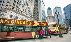 Big Bus Tours: 24- or 48-Hour Adult Ticket for a Hop On, Hop Off Chicago Bus Tour from Big Bus Tours
