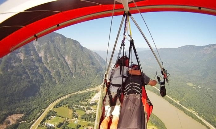 Fly Gravity Sports - Hope: Low and Slow Beginner Hang-Gliding Class or Tandem Hang-Gliding Session from Fly Gravity Sports (Up to 43% Off)