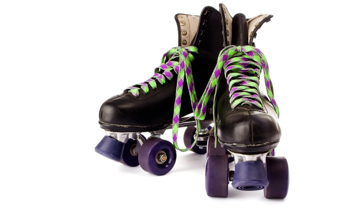 Roller King - Roseville: Roller Skating for 2 or Birthday-Party Package for Up to 10 at Roller King (47% Off)