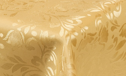 Damask Pattern Tablecloth in Choice of Colour