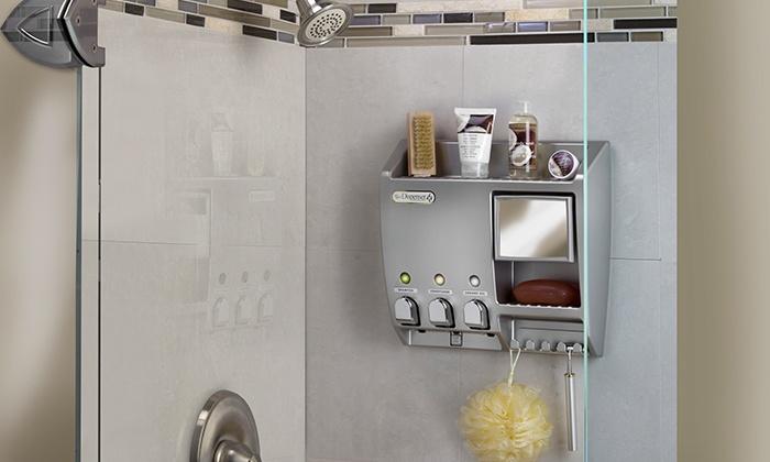 soap bath dispensers image luxury shampoo version linea shower dispenser printable