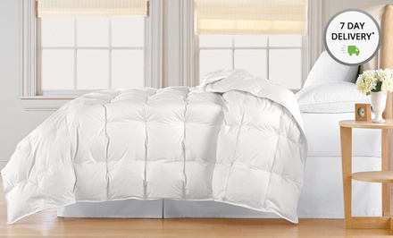 Hotel Grand White Down Comforters. Multiple Options Available from $79.99-$119.99. Free Returns.