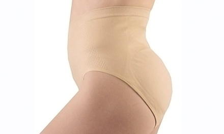 Butt Booster Panties with a Tummy Shaper Panel