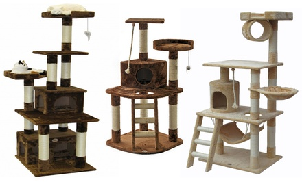 Go Pet Club Cat Trees from $44.99–$89.99
