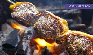 Samba Brazilian Steakhouse - Universal City: All-You-Can-Eat Brazilian Barbecue Dinner for 2 or 4 with Champagne at Samba Brazilian Steakhouse (Up to 38% Off)
