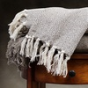 100% Cotton Diamond Knit Throw Blankets