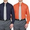 Losev Men's Convertible-Cuff Dress Shirt