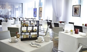 The Hilton Liverpool Exchange Restaurant: Afternoon Tea with Bubbly for Two or Four at The Exchange Restaurant (42% Off)