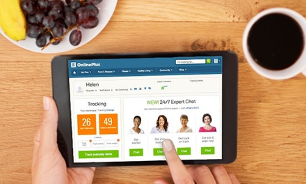 $19.95 for a Two-Month Subscription to Weight Watchers OnlinePlus ($59.90 Value)