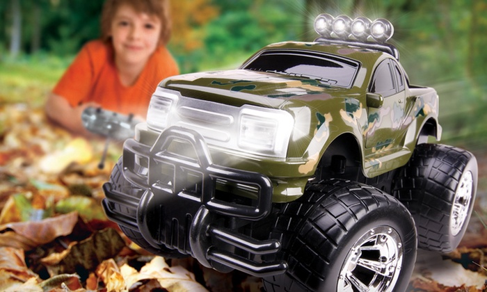 Black Series Rally Stomper RC Truck: $20 for Black Series Rally Stomper RC Truck ($39.99 List Price). Four Colors Available. Free Shipping and Free Returns.