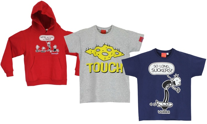 10659b3da Diary Of A Wimpy Kid Clothing | Groupon Goods