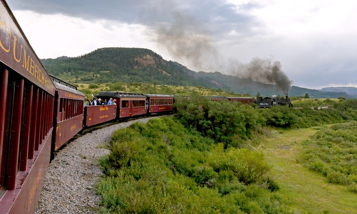 Cumbres and Toltec Scenic Railroad - Multiple Locations: $118 for a Coach-Class Train Ride for Two Adults from Cumbres and Toltec Scenic Railroad ($210 Value)