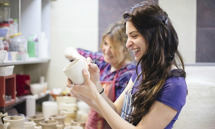 $25 for $50 Toward Ceramics Painting for Two at Artopia Studios Inc.