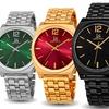 Joshua & Sons Men's Quartz Sunray-Dial Bracelet Watch