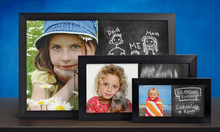 PhotoChalkBoards.com: Custom Photo Chalkboards from PhotoChalkBoards.com (Up to 67% Off). Two Options Available. Shipping Included.