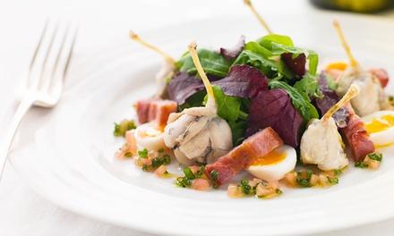 Cuisses de grenouilles à la Provençale et kir au vin pour 2 ou 4 personnes dès 21 € à l'Auberge Notre-Dame