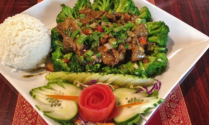 Our Thai House - Logan: Thai Food for Two or Four at Our Thai House (Up to 35% Off). Two Options Available.