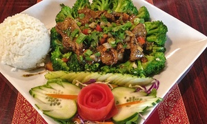 Our Thai House: Thai Food for Two or Four at Our Thai House (Up to 35% Off). Two Options Available.
