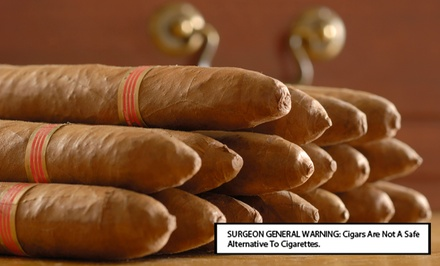 $20 for $40 Worth of Hand-Rolled Cigars at Hoboken Premium Cigars