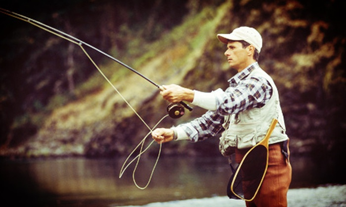Golden River Sports - Golden Proper: Fly-Fishing Class for Two or Full-Day Fly-Fishing Trip for Two with Lunch from Golden River Sports (Up to 56% Off)