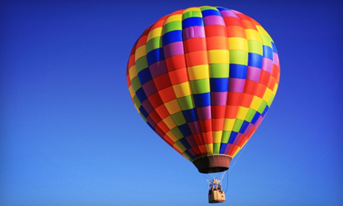 Branson Balloon - Branson: Private or Semiprivate Ride in a Hot-Air Balloon for Two with Champagne Toast from Branson Balloon (Up to 53% Off)