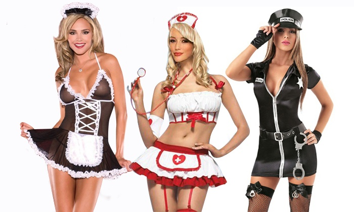 Sexual role play costumes
