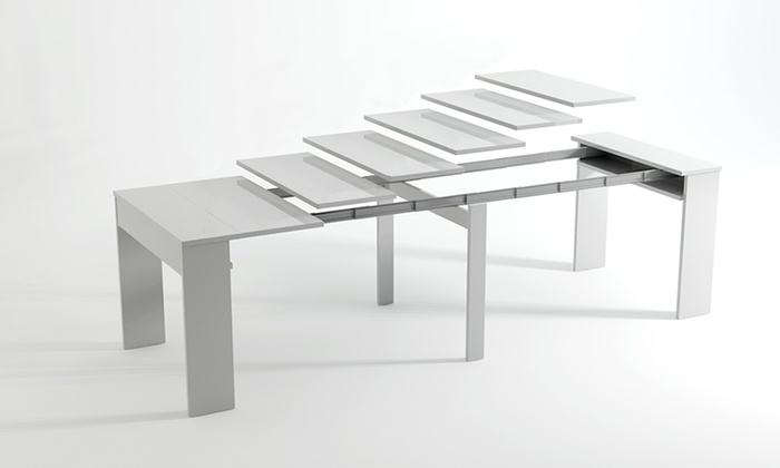 Extending Dining Table Console