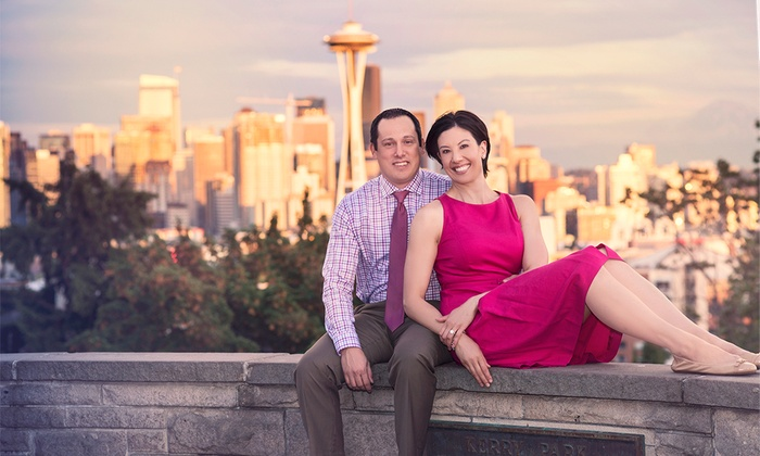 Kelsey Lane Photography - Seattle: 60-Minute Engagement Photo Shoot with Wardrobe Changes and Digital Images from Kelsey Lane Photography (64% Off)