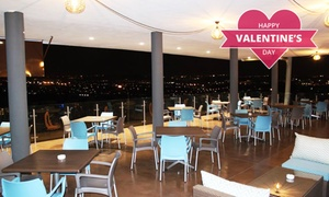 The Windjammer Restaurant and Upperdeck Bar: Lovers' Platter and a Bottle of Wine for Two for R299 at The Windjammer Restaurant and Upperdeck Bar