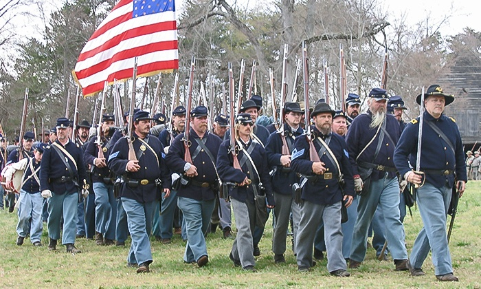Historic Latta Plantation - Huntersville: Admission for Two, Four, or Six to a Civil War Reenactment at Historic Latta Plantation (Up to 44% Off)