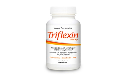 Triflexin Joint- and Arthritis-Relief Supplement (60-Count Bottle)