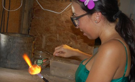 Glass Craft Session or Introductory Glass-Blowing Class for One or Two at Artaculture Academy (Up to 56% Off)
