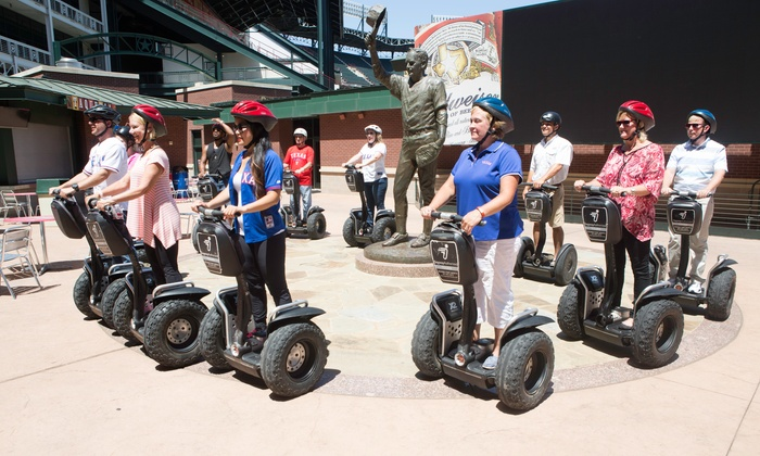 Segway Fort Worth - Segway Fort Worth: Globe Life Park Segway Tour for One, Two, or Four from Segway Fort Worth (50% Off)