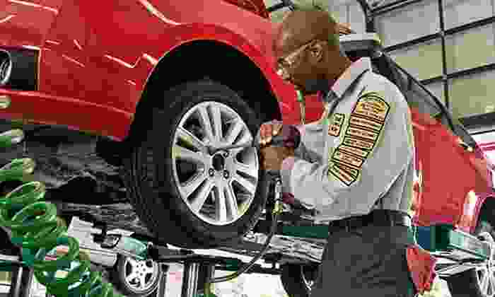 Precision Tune Auto Care - Royal Oak: $25 for Premium Oil-Change Package with Tire Rotation and Brake Inspection at Precision Auto Care (Up to $106 Value)