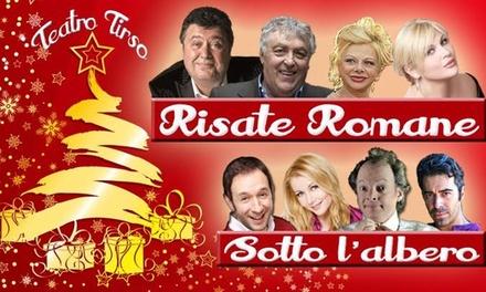 3 o 5 ingressi al Teatro Tirso De Molina di Roma (sconto fino a 60%)
