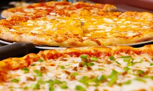 Sam & Louie's: Breadsticks and Salad with One Specialty Pizza or Two One-Topping Pizzas at Sam & Louie's (37% Off)