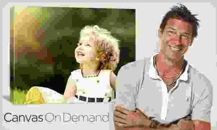 """Canvas On Demand: One or Two 16""""x20"""" Customized Gallery-Wrapped Canvases with Shipping & Handling from Canvas on Demand (Up to 68% Off)"""