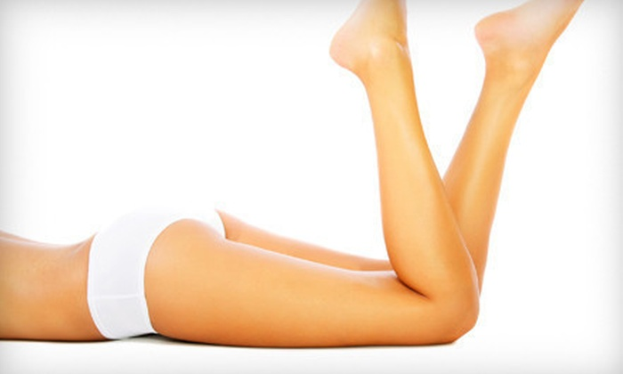 Aqua Medical Spa - Uptown: $139 for Three Endermologie Cellulite Treatments with Bodysuit at Aqua Medical Spa ($290 Value)