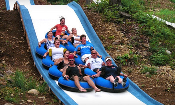 Tubby Tubes - Lake Luzerne: Two-Hour Downhill Tubing Pass for One or Two at Tubby Tubes in Lake Luzerne (Up to 53% Off)