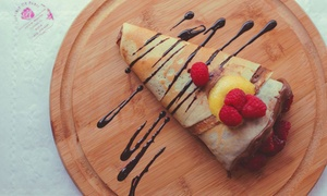 Creperie de paris: Crepes and Coffee at Creperie de Paris (Up to 42% Off). Two Options Available.