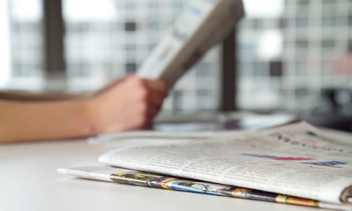 Daily Herald: 26 or 52 Weeks of Sunday Newspaper Delivery from the Daily Herald (Up to 62% Off)