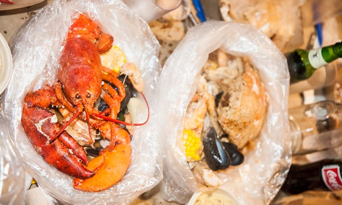 Red & Gold Boil - East Village: $25 for $40 Worth of Seafood — Red and Gold