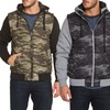 Distortion Men's Camouflage Jackets and Vests