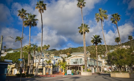 groupon daily deal - 1-Night Stay for Two with Champagne at Hotel Metropole on Catalina Island