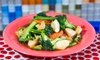 Cozy Noodle & Rice - North Side: Thai Food for Two or More, Valid Sunday–Thursday or Any Day at Cozy Noodles & Rice (Up to 35% Off)