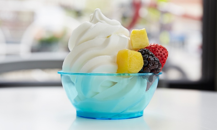 Red Mango Cafe - Fairfield: $29 for Five Groupons, Each Good for $10 Worth of Frozen Yogurt at Red Mango Cafe ($50 Value)