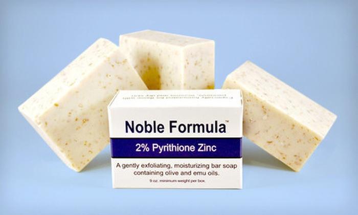 $15 for Noble Formula 2% Pyrithione-Zinc Soap